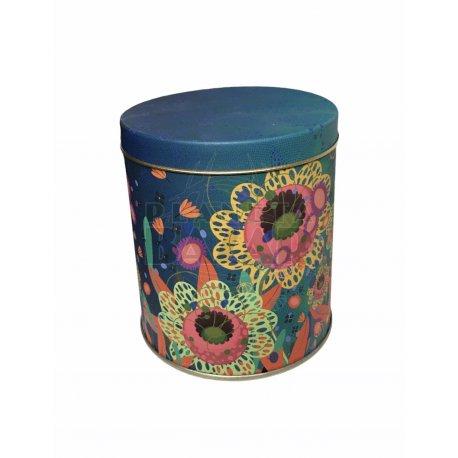 Lata Vela De Soja | Flores