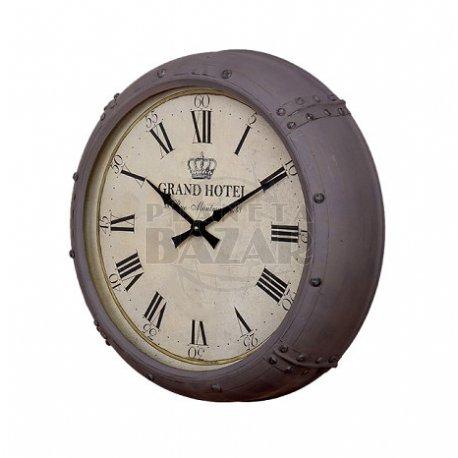 Reloj Pared Metal Grand Hotel 51 cm