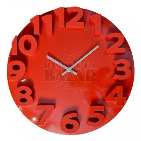 Reloj De Pared Red 35 Cm