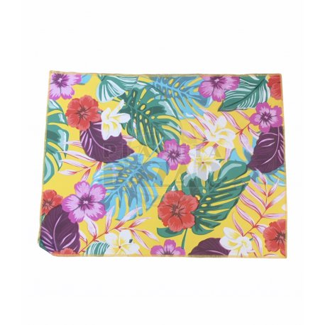 Individual Rectangular Estampado | Tropical Amarillo