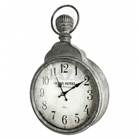 "Reloj Pared De Metal ""Grand Hotel"" 31x50"