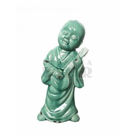 Buda Turquesa 15x33cm