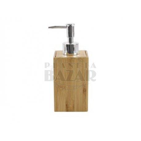 Dispenser Bambú Cuadrado