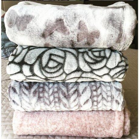 Manta Polar Soft | Rosa Dior