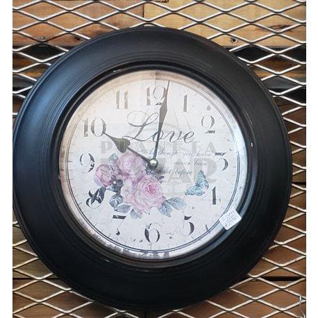 Reloj de Pared Metal 34 cm