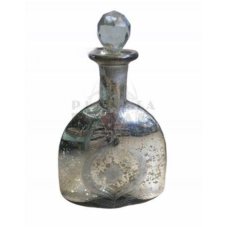 Botellon Triangular Con Tapon 24x11 cm