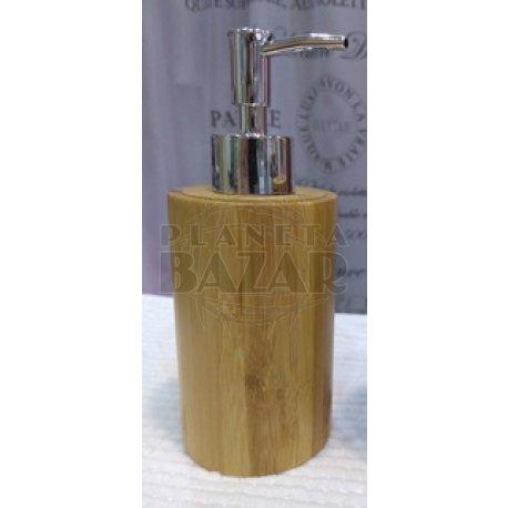 Dispenser Jabón Líquido Bambú