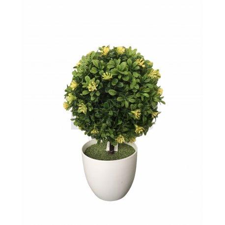 Bonsai Flores Amarillas 13x26cm