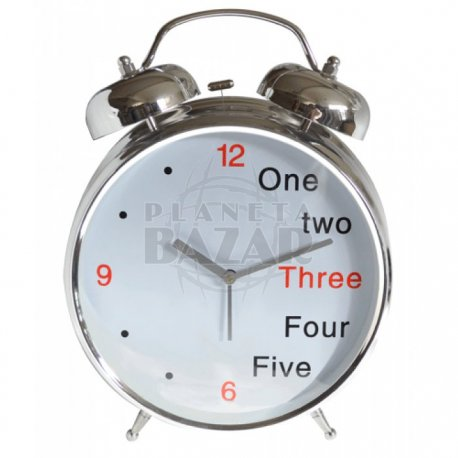 Reloj  Jumbo Despertador Gde