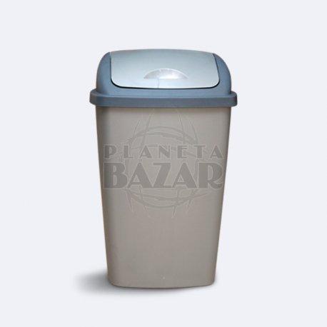 Recipiente De Residuos Tapa Rebatible X50 Lts.