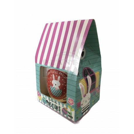 Taza Conejo Pascua En Caja