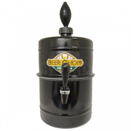 Chopera Dispenser Negra 5,1 Lts