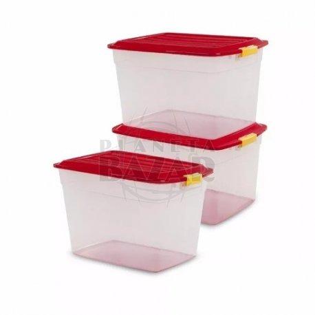 Caja Plástica Col Box x 42 Lts