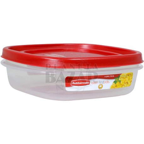 Hermético Rubbermaid EasyfindLids 710 ML