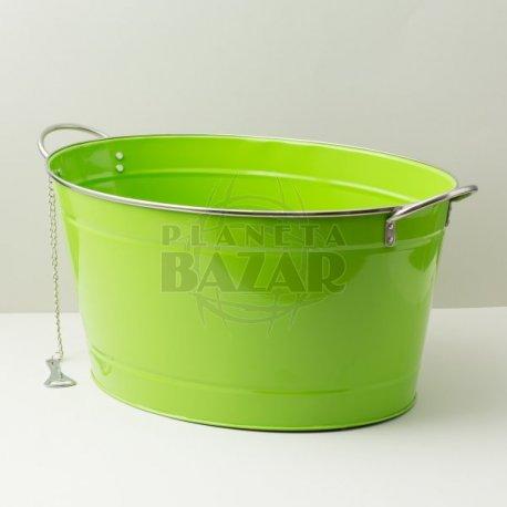 Champanera Oval Con Destapador | Verde