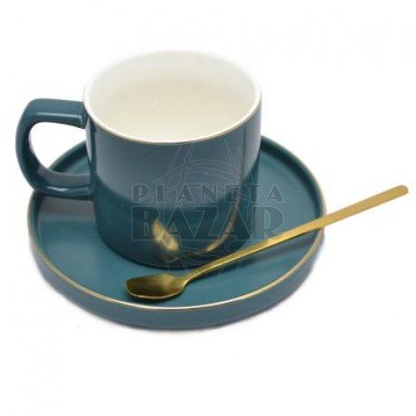 Set Mug Plato y Cuchara