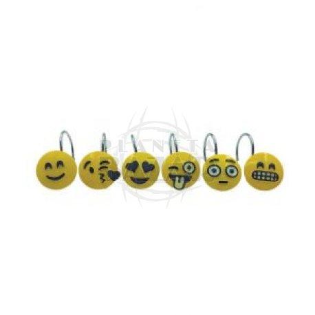 Ganchos P/Cortinas Emoticones