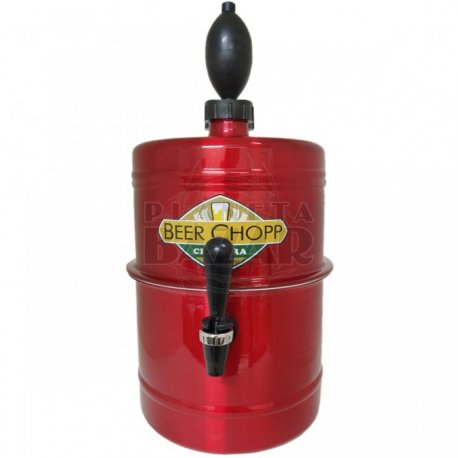 Chopera Dispenser Roja 5,1 Lts