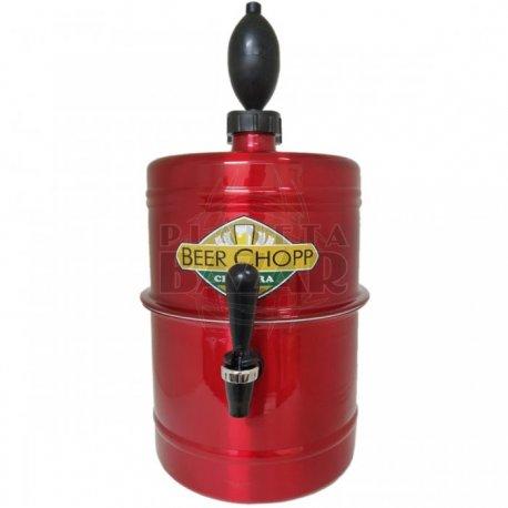 Chopera Dispenser Roja 5,1 Lts